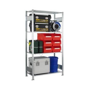 Steckregal-Set VMS100 Anbauregal 2000x1000x400 mm 4 Böden