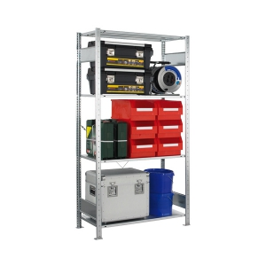 Steckregal-Set VMS100 Grundregal 2000x1000x500 mm 4 Böden