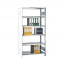 Büroregal -AR- Stecksystem verzinkt 2000x750x600 mm