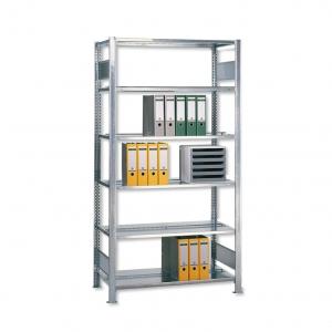 Büroregal -GR- Stecksystem verzinkt 2000x750x600 mm