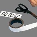 Magnet-Rolle 20 mm x 5 lfdm - weiß