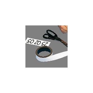 Magnet-Rolle 25 mm x 5 lfdm - weiß