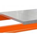 Stahlpaneel-Ebene 3300 x 1100 x 1,50 mm