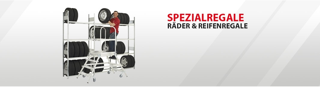 Räder & Reifenregale