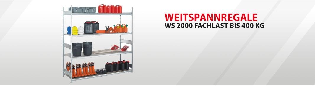 WS 2000 Fachlast bis 400 kg